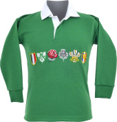 Kids / Children 6 Nation Full Sleeve Rugby Fan Shirts Size 24/32
