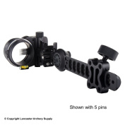 Axcel ArmorTech Vision HS HD Sight - 5-Pin - .010 - Black