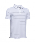 Under Armour Boys' Playoff Stripe Polo Shirt