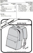 Book Bag Back Pack #211 Sewing Pattern