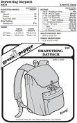 Drawstring Daypack Backpack Bag #203 Sewing Pattern