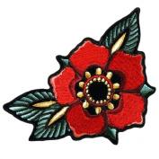 Hot Leathers Tattoo Flower BIKER LADIES Patch