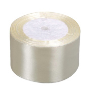 Vsolucky Satin Ribbon 50mm Width 25Yards Wedding Birthday Party Favours Art Crafts Sewing Gift Wrapping Decor