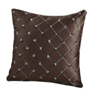 Gotoole Home Sofa Bed Decor Multicoloured Plaids Throw Pillow Case Square Cushion Cover