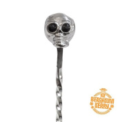 Cocktail Kingdom Skull Barspoon - Stainless Steel / 33cm