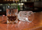 "Hotel Astor ""Men's Bar"" Crystal Whiskey Glass"