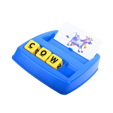 Generic Fun Matching Letters Game Parent-child Board Game Toy Gift for Boys & Girls