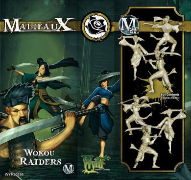 Malifaux: Outcasts - Wokou Raiders