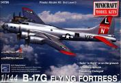 MIN14726 1:144 Minicraft B-17G Flying Fortress [MODEL BUILDING KIT]