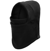 Kagogo Double Layers Thicken Warm Full Face Cover Winter Ski Mask Beanie Cs Hat