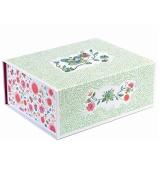 Djeco Storage Box, Flowery for Kids Jewellery and Toy Organiser