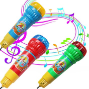 Leegor Creative Echo Microphone Mic Voice Changer Toy Gift Birthday Present Kids Party Song Developmental Toys