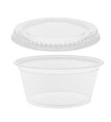 Perfect Stix PSC2-100 Soufflé Cup, Plastic, 60ml with Lids