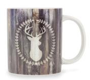Brownlow Kitchen 57426 Yes Deer! Ceramic Mug, 300ml
