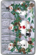 Ideal Home Range PRG533700 Cafe Paper Plates, 30cm , Forest Snowmen