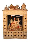 One Hundred 80 Degrees Bavarian Scene Lighted Advent Calendar by One Hundred 80 Degrees