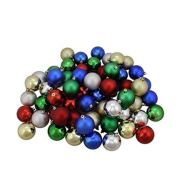 20-pack Mini Christmas Ornaments, Assorted Colours and Styles