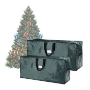 Elf Stor Green Christmas Tree Bags Holiday Set for X-Large Trees up to 5.2m
