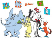 Dr. Seuss Party Room Decorations - Character Life Size Cardboard Stand In