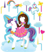 Unicorn Room Decorations - Life Size Cardboard Standup