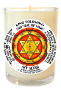 Solomons Mars 2 for Physical Healing 240ml Scented Soy Glass Prayer Candle