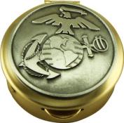 US Marine Corps Pill Box Keepsake United States Military Patriotic Collectibles