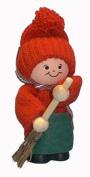 Tomte Santa with Broom