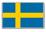 Flag of Sweden fridge magnet