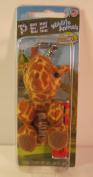 PEZ Wildlife Animals Clip-On Candy Dispenser, Giraffe