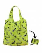 Re-Uz Lifestyle Shopper Reusable Folding Shopping Grocery Bag - I Love Shoes