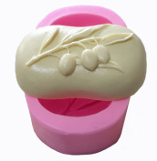WYD A Cherry Fondant Mermaid Silicone Mould,Handmade Soap Mould,Cake Mould Decorating,Fondant Baking Mould