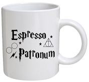 Funny Mug - Espresso patronum - 330ml Coffee Mugs - Funny Inspirational and sarcasm - By A Mug To Keep TM