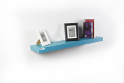 SanLem Floating Shelf (100cm x 25cm x 5.1cm ) - Turquoise