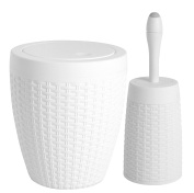 6.2l Round Trash Can and Toilet Bowl Brush