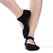 Sporealth Yoga Socks Sports Women's Yoga Socks with Grips Non Slip Ankle Socks Barre Pilates Yoga Socks Non Sip
