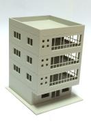 Outland Models Railway Modern 4-Story Office Building Unpainted N Scale 1:160