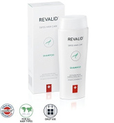 REVALID Revitalising protein shampoo with oat extract wheat protein and panthenol B5 250 ml Made in Switzerland