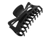 Ladies Women Bath Black Large Plastic Butterfly Style Hairpin Hair Claws Grip Clip Clamp Hair Accessory