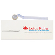 World's First Biocompatible Polymer Dermaroller By White Lotus Medical Derma Roller Uses Bio Polymer Skin Needling To Avoid Metal Allergy The Microneedle Skin Roller For Holistic Microneedling 0.5mm