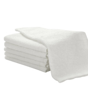 Pack of 6 Baby Wash Mitt Super Soft 25 x 25 cm 100% Bamboo Cotton from Future Founder