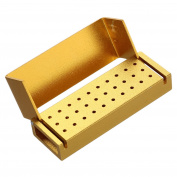 30 Holes Dental Disinfection Burs Block Holder Disinfection Box