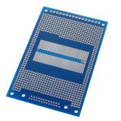 8cm x 12.5cm Single Side Prototype PCB Circuit Board Blue Silver Tone
