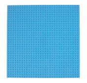 Premium 25cm x 25cm Sky Blue Stackable Base Plate - Compatible with All Major Brands