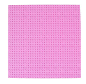 Premium 25cm x 25cm Light Pink Stackable Base Plate - Compatible with All Major Brands