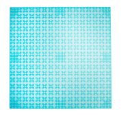 Premium 25cm x 25cm Clear Light Turquoise Stackable Base Plate - Compatible with All Major Brands