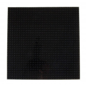 Premium 25cm x 25cm Black Stackable Base Plate - Compatible with All Major Brands