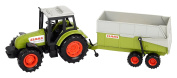 Dickie Toys 203736004 Claas Tractor and Trailer