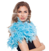 Feather Boa Light Blue 180 cm