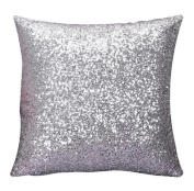Covermason Glitter Sequins Square Throw Pillowcase Cushion Covers For Cafe Home Decor
