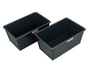 0.9kg Traditional Loaf Tin Twin-pack, Box Style, Hand Made, British Made with GlideX Non-Stick ® TM